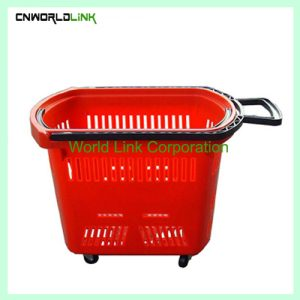 45L plastic shopping basket  (8)