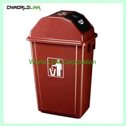 Push lid ash Trash bin WL-029 (1)