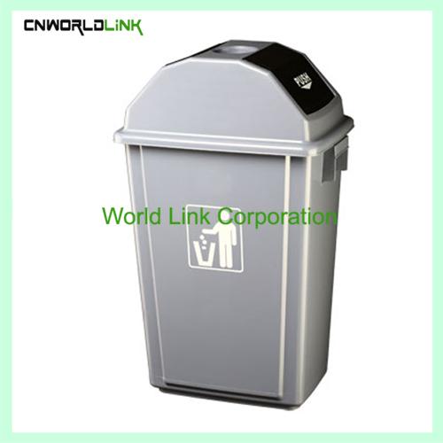 Push lid ash Trash bin WL-029 (2)
