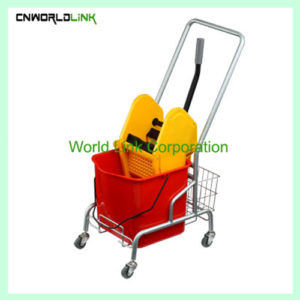 Single mops domn press wring trolley WL-029AL (1)