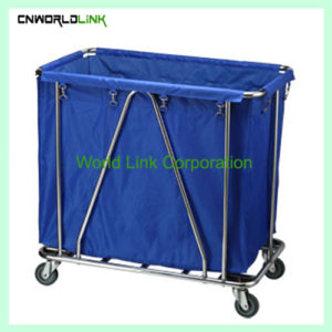 Square steel tube linen trolley  WL-057B (3)